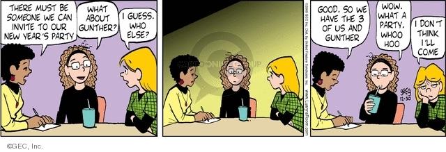 Comic Strip Greg Evans  Luann 2008-12-30 guess