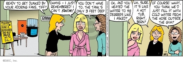 Comic Strip Greg Evans  Luann 2009-01-19 water