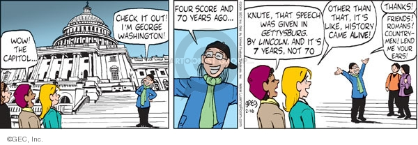 Comic Strip Greg Evans  Luann 2009-02-16 student