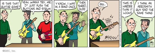 Comic Strip Greg Evans  Luann 2009-02-23 dad