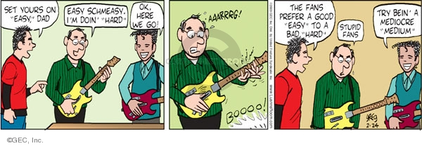 Comic Strip Greg Evans  Luann 2009-02-24 dad