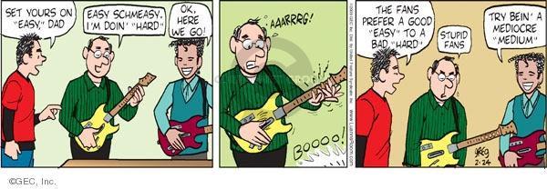 Comic Strip Greg Evans  Luann 2009-02-24 Guitar Hero