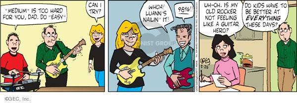 Comic Strip Greg Evans  Luann 2009-02-26 teen