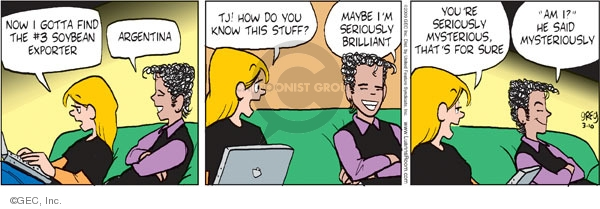 Comic Strip Greg Evans  Luann 2009-03-10 global