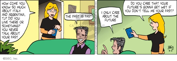 Comic Strip Greg Evans  Luann 2009-03-11 gonna