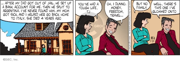 Comic Strip Greg Evans  Luann 2009-03-20 money
