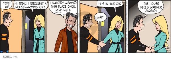 Comic Strip Greg Evans  Luann 2009-03-27 romance