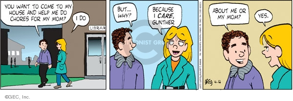 Comic Strip Greg Evans  Luann 2009-04-04 friend