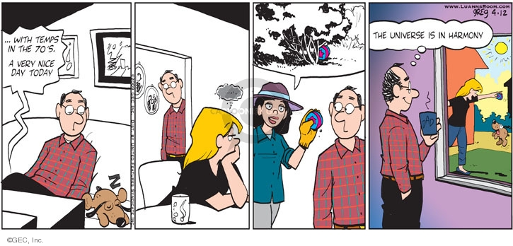 Comic Strip Greg Evans  Luann 2009-04-12 outdoors