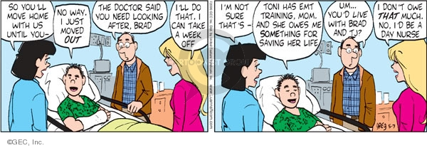 Comic Strip Greg Evans  Luann 2009-05-07 week