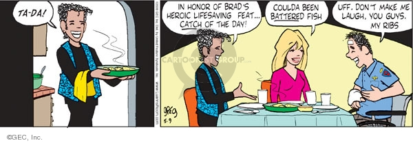Comic Strip Greg Evans  Luann 2009-05-09 Brad