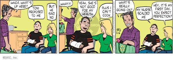 Comic Strip Greg Evans  Luann 2009-05-16 day care