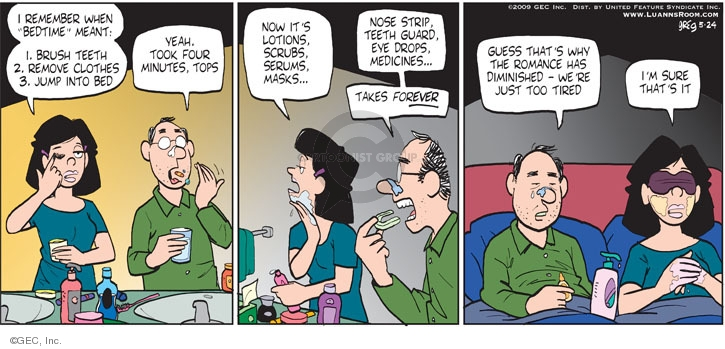 Comic Strip Greg Evans  Luann 2009-05-24 marriage