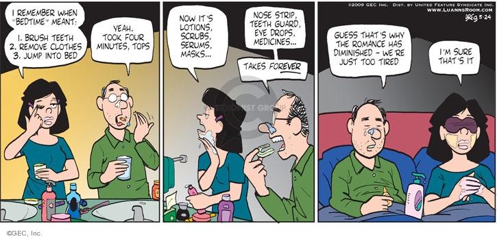 Comic Strip Greg Evans  Luann 2009-05-24 romance