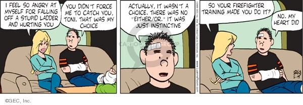 Comic Strip Greg Evans  Luann 2009-05-19 Brad