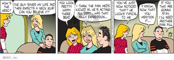 Comic Strip Greg Evans  Luann 2009-05-23 expect