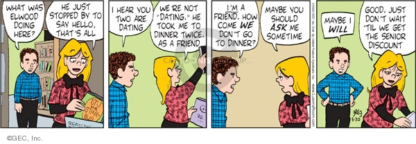 Comic Strip Greg Evans  Luann 2009-05-30 friendship