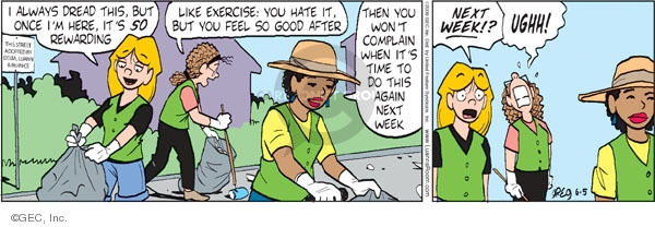 Comic Strip Greg Evans  Luann 2009-06-05 week