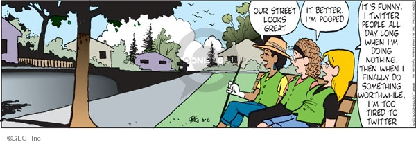 Comic Strip Greg Evans  Luann 2009-06-06 something