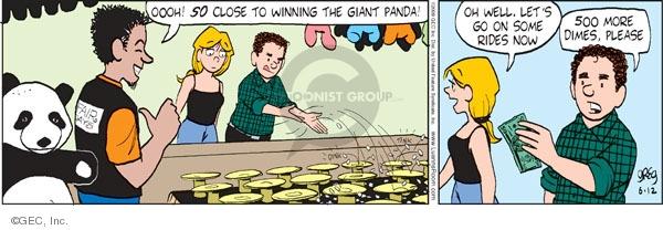Comic Strip Greg Evans  Luann 2009-06-12 Greg