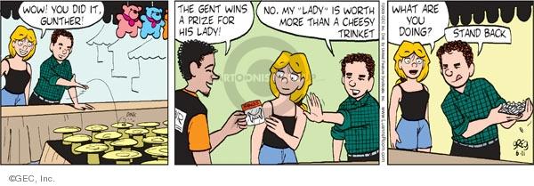 Comic Strip Greg Evans  Luann 2009-06-11 Greg