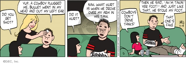 Comic Strip Greg Evans  Luann 2009-06-19 take