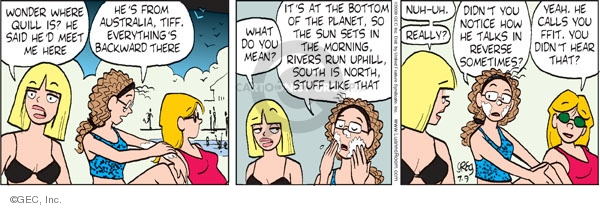 Comic Strip Greg Evans  Luann 2009-07-09 Australia