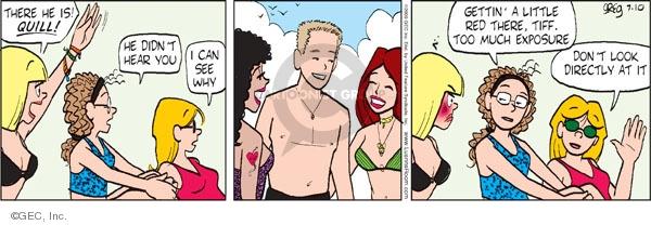 Comic Strip Greg Evans  Luann 2009-07-10 exposure