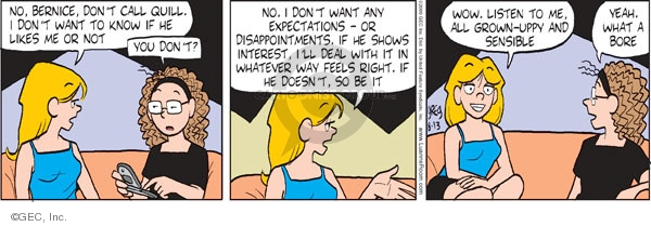 Comic Strip Greg Evans  Luann 2009-08-13 know