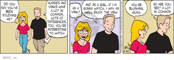 Comic Strip Greg Evans  Luann 2009-08-22 girl