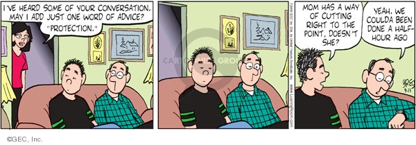 Comic Strip Greg Evans  Luann 2009-09-11 date