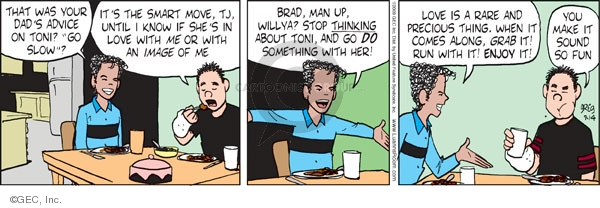 Comic Strip Greg Evans  Luann 2009-09-14 know