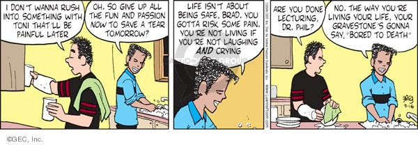 Comic Strip Greg Evans  Luann 2009-09-16 into