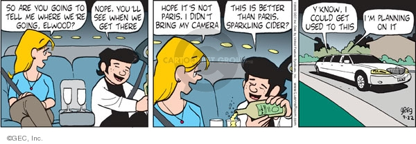 Comic Strip Greg Evans  Luann 2009-09-22 wealth
