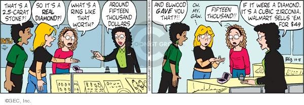 Comic Strip Greg Evans  Luann 2009-10-05 dollar