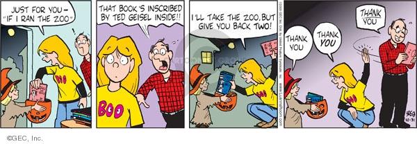 Comic Strip Greg Evans  Luann 2009-10-31 just