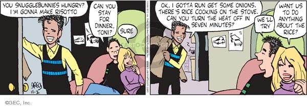 Comic Strip Greg Evans  Luann 2009-11-02 Toni