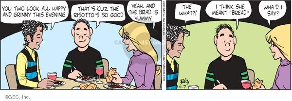 Comic Strip Greg Evans  Luann 2009-11-07 good