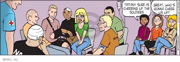 Comic Strip Greg Evans  Luann 2009-11-13 community activism