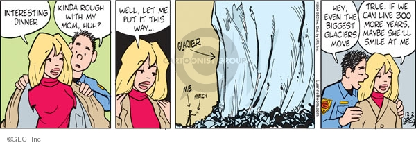 Comic Strip Greg Evans  Luann 2009-12-02 cold