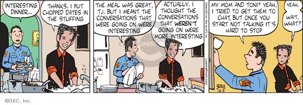 Comic Strip Greg Evans  Luann 2009-12-03 Toni
