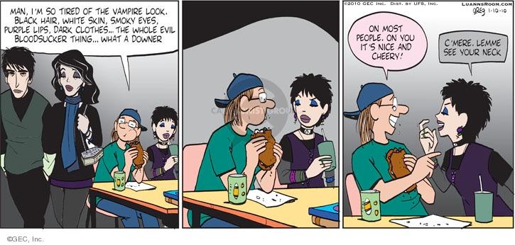 Comic Strip Greg Evans  Luann 2010-01-10 skin