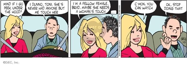 Comic Strip Greg Evans  Luann 2010-01-05 Toni