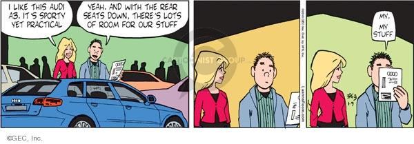Comic Strip Greg Evans  Luann 2010-01-09 automobile