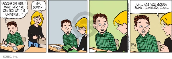 Comic Strip Greg Evans  Luann 2010-01-20 focus