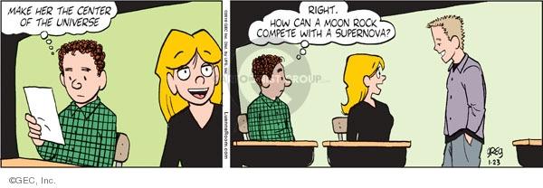 Comic Strip Greg Evans  Luann 2010-01-23 teen