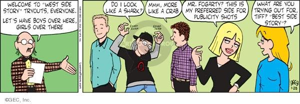 Comic Strip Greg Evans  Luann 2010-01-28 theater