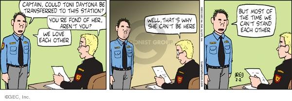 Comic Strip Greg Evans  Luann 2010-02-02 workplace
