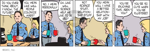 Comic Strip Greg Evans  Luann 2010-02-04 science