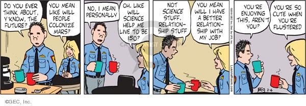Comic Strip Greg Evans  Luann 2010-02-04 science